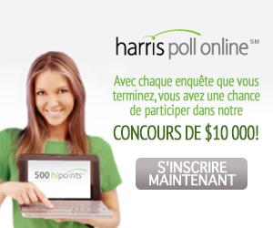 Sondages Payants : Harris Polls Online